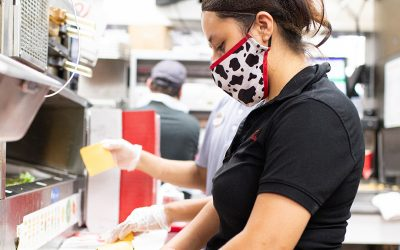 Surprised-They-Enjoy-the-Kitchen Daytime Chick-fil-A Team Member